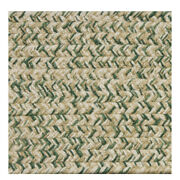 Green Beige Cream Braided Area Rugs By Colonial Rug--many Sizes 430