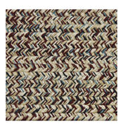 Blue Burgundy Beige Cream Braided Area Rugs By Colonial Rug--many Sizes 436