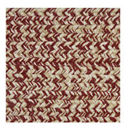 Brick Red Beige Cream Braided Area Rugs By Colonial Rug--many Sizes 449