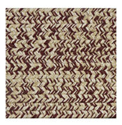 Burgundy Beige Cream Braided Area Rugs By Colonial Rug--many Sizes 450
