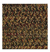 Green, Red, Black, Gold,brown Braided Area Rugs By Colonial Rug--many Sizes 478