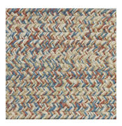Blue Rose Beige Cream Braided Area Rugs By Colonial Rug--many Sizes 402