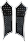 Accutronix Extended Drilled Driver Floorboards - Instigator Night Series