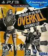 The House Of The Dead Overkill - Extended Cut Sony Playstation 3 Brand New