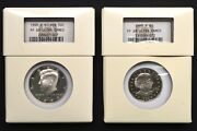 1999 U.s. Silver Proof Set Contained In Intercept Shield Cases Ngc Pf69 Ucam