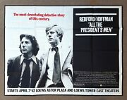 All The Presidentand039s Men ✯ Cinemasterpieces Movie Poster Watergate Fake News Cnn