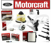 Motorcraft Tune Up Kit 2000-2001 F150 4.6l Ignition Coil Dg508 Sp493 Fa1632