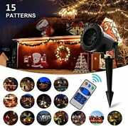 Christmas Led Projector Lights Vansky With Rf Remote And 15 Slides Brand New