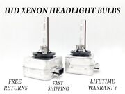 8000k Ice Blue Hid Xenon Headlight Bulb For Bmw 335d 2009-2011 High And Low Beam