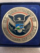 Awesome Super Rare Homeland Ice Extra Large 3 Inch Challenge Coin