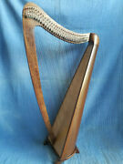 Hb Professional 34 Strings Beautiful Design Lever Harp Antique Christmas Gift