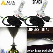 Alla Lighting X3 Led Best Seller H7 Hd-light Replacement Bulb,white Yellow Blue