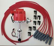 Ford Fe 390 427 428 Red Hei Distributor + 8.5mm Universal Spark Plug Wires Usa