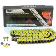 New Yellow 530x150 O-ring Drive Chain 530 Pitch 150 Links 9850 Pounds Tensile