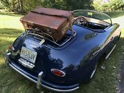 Vtg 1930and039s British Made Saddle Leather Car Rack Travel Sticker Suitcase R3595
