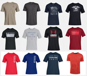 Under Armour T Shirts Mens Small To 5xl Authentic Ua Short Sleeve Cotton Tees