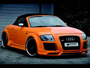 Audi Tt 8n R8 Style Body Kit Front And Rear Bumper Lip Side Skirts Lip Grill