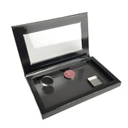 Pack 100 Magnetic Custom Palette Box Eyeshadow Concealer Blush Refillable Boxes