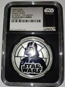 2011 Star Wars Darth Vader Silvered - Ngc Pf69uc Ultra Cameo Certified