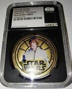 2011 Star Wars Darth Vader - Ngc Pf69uc Ultra Cameo Certified Coin