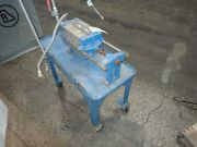 Filter Press With Stainless Steel Plates On Cart