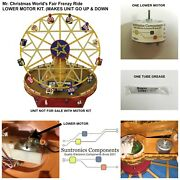 Mr. Christmas World's Fair Frenzy Ride Lower Replacement Part Motor Kit