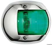 Osculati Compact 12 Mirror-polished Stainless Steel Right Green Navigation Light