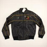 Vintage Style Auto Corvette Men Racing Jacket With 5 Collectible Pins Size M