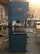 Used Jet Woodwork Bandsaw Jwbs-20-1 With Break