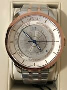 Gevril 45mm Columbus Circle Ltd Edition 125 Of 500 Gold And Silver Model 2003b