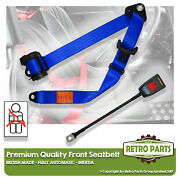 Front Automatic Seat Belt For Rover P5 3.0 Litre Coupe 1962-1973 Blue