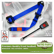 Front Automatic Seat Belt For Renault Caravelie 100s Coupe 1963-1968 Blue