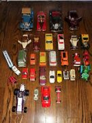 Lot-collectible Die Cast-plastic-tootsie, Other Toy Vehicles-cars-trucks As Is
