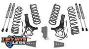 Maxtrac Suspension K882464f 7 Lift Kit W/fox Shocks For 2009-2018 Ram 1500 2wd