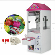 Mini Claw Crane Machine Candy Toy Grabber Catcher Carnival Charge Play Mall 110v