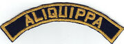 Cub Scout Aliquippa Bgs Blue And Gold Community Strip With Gauze Back
