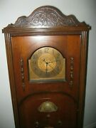 Atwater Kent Grandmother Clock Working Radio Deco For Restoration Parts Only