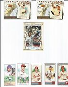 Lot Of 28 2011 Allen And Ginter's Mantle, Rivera, Sketch, Hometown Heroes, Mini Sp