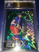 1997-98 Pinnacle Epix 1 Wayne Gretzky Moment Emerald Bgs 9.5 Only /30 Made