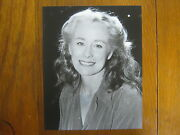 Ellen Geer  The Jimmy Stewart Show/will Geer Signed 8 X 10  B And W Photo