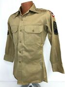 Wwii Us Army Service Force Enlisted Shirt