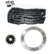 Black O Ring Chain Sprocket For 1989-2006 Yamaha Yfz350 Banshee 350