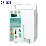 Fda Medical Infusion Pump Iv And Fluid Equipment With Audible Visual Alarm New A++