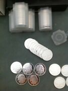 1 Oz. Silver Rounds Lot Of 10 Proof- Like Strike From Apmex Troy Oz. 31.1gms