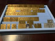 Brass Engraving Fonts 93 Piece