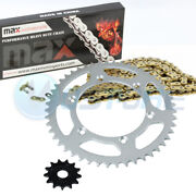 Gold Non O-ring Chain Sprocket For 2001-2004 2002 2003 Yamaha Yz250 Yz 250
