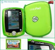 Leapfrog Leappad 2 Tablet Gel Skin, Carrying Case, 9 Apps + Cars Mathematics