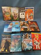 Disney Dvd Lot Of 12 Toy Story Narnia Jungle Book Nightmare Before Christmas