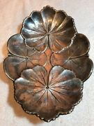 Reed And Barton Sterling Leaf Tray Approx 17.86 Ozt