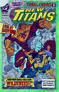 New Titans Comics 91 Production Art Original 24 Pg And Cover Signed Adrienne Roy